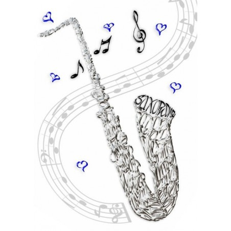 Saxofon Fest Kort