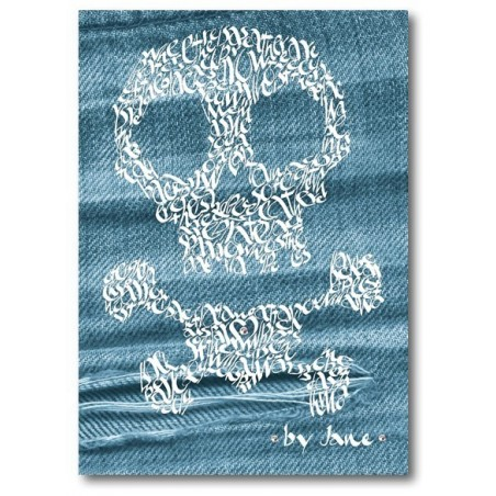 Skull & Crossbones su Denim