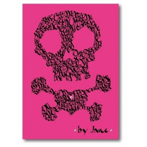 Crâne et os croisés Divers Couleurs