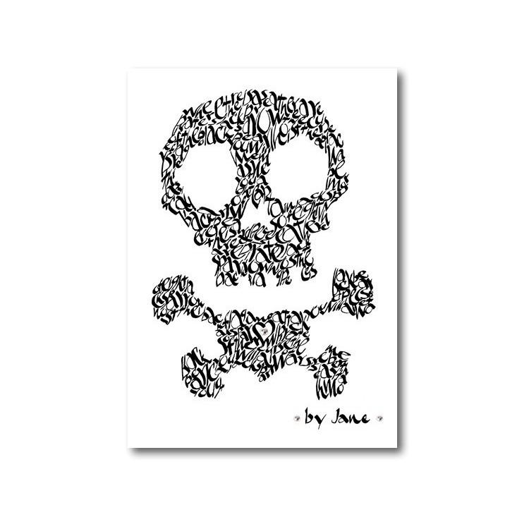 Cranio & Crossbones varias cores