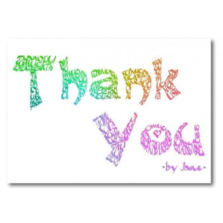 Grazie Arcobaleno Carta