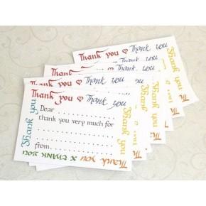 Gracias - paquete de tarjetas