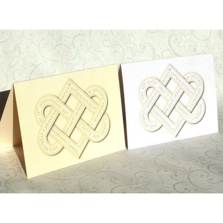 Wedding Card Anniversario Love Knot