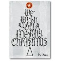 Noël Arbre à souhaits calligraphique carte de voeux