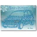 Tarxeta de Nadal PT Cruiser