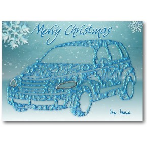 PT Cruiser Christmas Card
