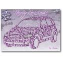 PT Cruiser Weihnachtskarte