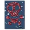 Cranio & Crossbones Tarxeta de Nadal