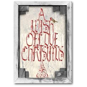 Een wens van de Liefde op Kerstmis