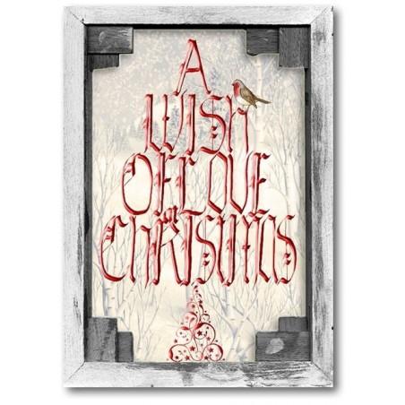 Ein Wunsch der Liebe zu Weihnachten