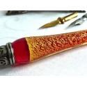 Glass Dip Pen Blotter Tinter i ploma Rest
