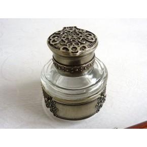 Træ kalligrafi pen, blækhus og pen indehaveren