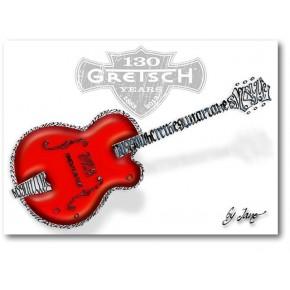 Gretsch guitar - kort