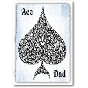 Ass Dad (blau)