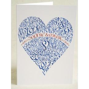 Personifierade Valentinkort