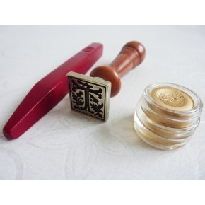 Gothic Wax Seal med trähandtag