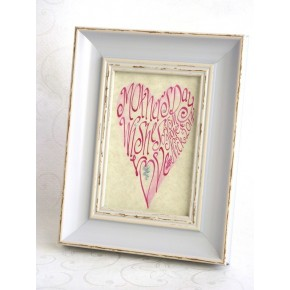 Mothers Day Pink Heart Picture