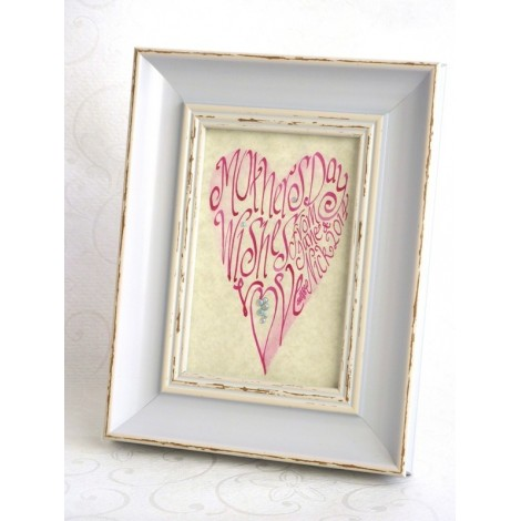 Mors Dag Pink Heart Picture