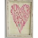 Muttertags-Rosa-Herz Bild