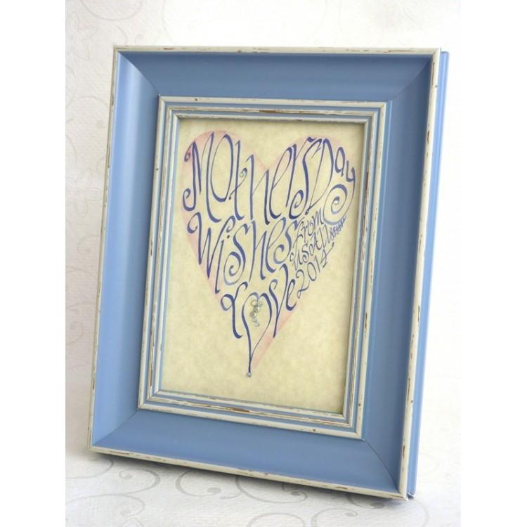 Muttertag Blue Heart Bild
