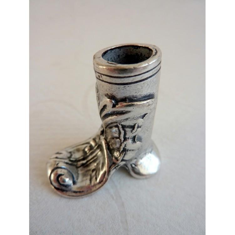 Boot-Art-Zinn-Stifthalter