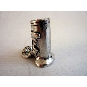 Boot Style Pewter Pen Holder