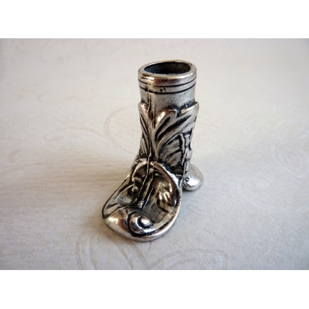 Boot Style peltro portapenne