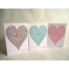 Kærlighed Hjerte - Grøn