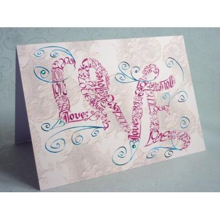Amore Vintage Swirls Carta