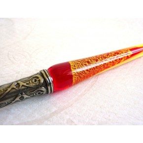 Verre calligraphie Pen Set - Gold Leaf