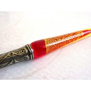 Glass Cal·ligrafia Pen Set - Gold Leaf