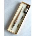 Koppar Glas kalligrafi penna och bläck