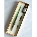 Kobber Glas Kalligrafi Pen & Ink