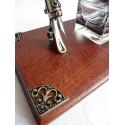 Feather Kalligraphie Pen Schreibtisch-Set - 2