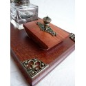 Feather Calligraphy Pen Desk Set - 2