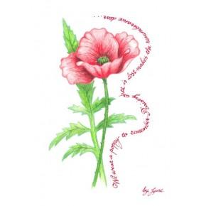 Gedenktag - Mohn