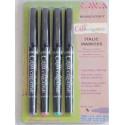 4 Color Embalaje cursiva Marker - Amplio