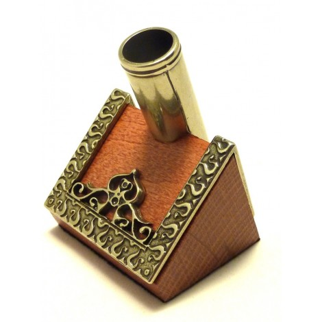 Wood and Alpaca Pen Holder
