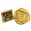 Sellos Letter Gothic sello de la cera