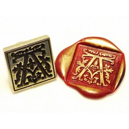 Gótico sellos de cera inicial