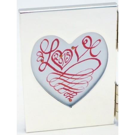 El amor del Corazón Mini Frame