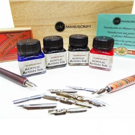 Compendio del artista con pluma y tinta
