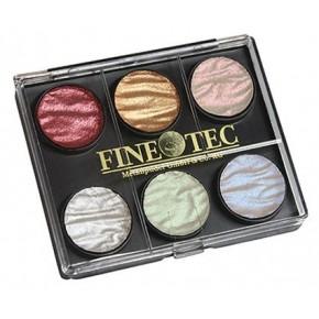 Finetec 6 perle farver 23mm