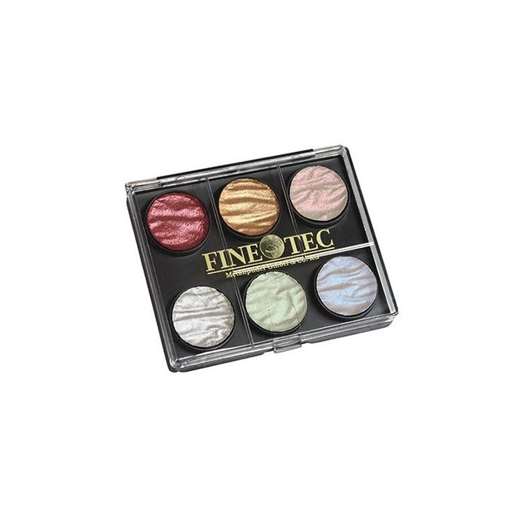 Finetec 6 pärla färger 23mm