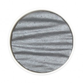 Silvergrå - pärla ersättning. Coliro (Finetec)