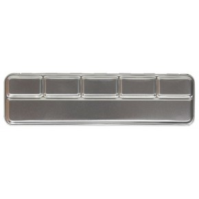 Metal box for 6 pearl colours