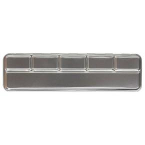 Metalen doos voor 6 pearl kleuren