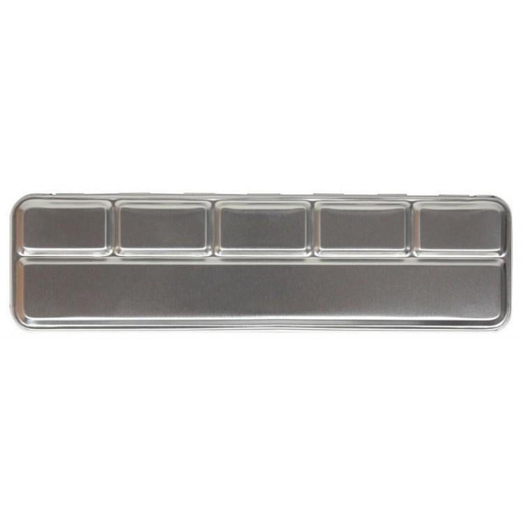 Metalboks til 6 perle farver