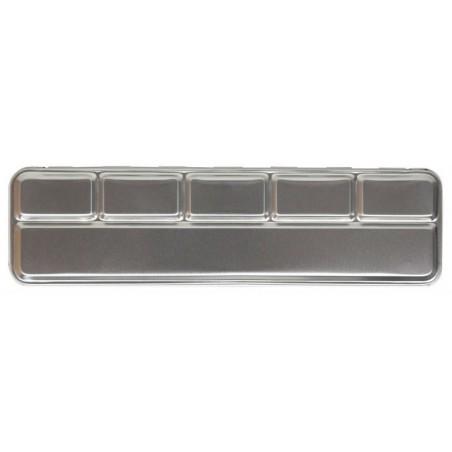 Caja de metal para 6 colores de perlas