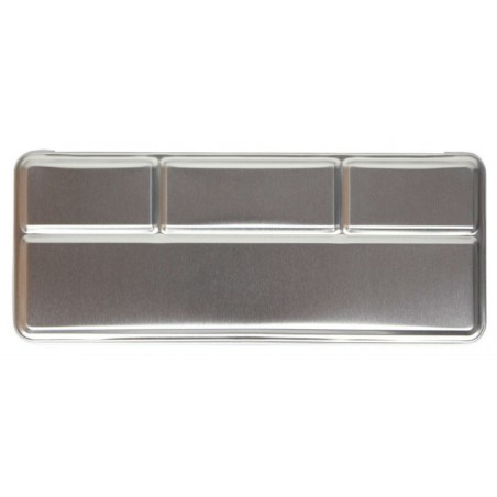 Metal box for 12 pearl colours